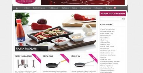 Mutfak Gereçleri Web Tasarım