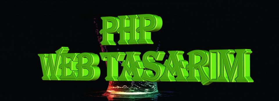 php web tasarim