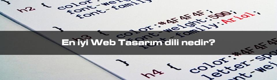 en-iyi-web-tasarim-dili-nedir