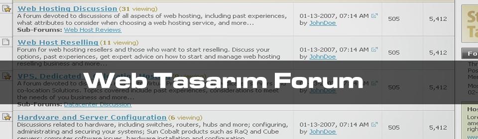 web-tasarim-forum