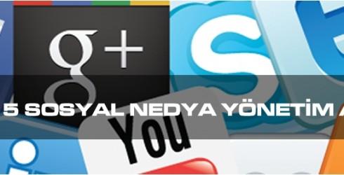 En iyi 5 sosyal medya yönetimi aracı