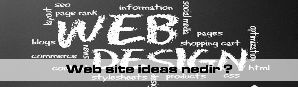 web-site-ideas-nedir