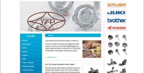 Tekstil Makinaları Web Tasarım