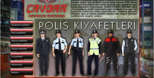 Güvenlik Kıyafetleri Web Tasarım