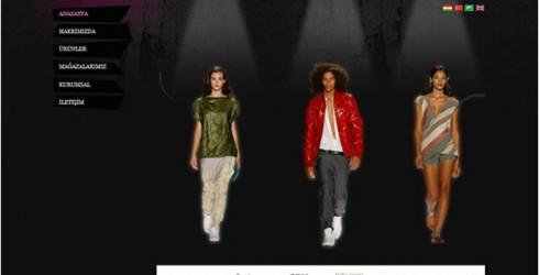 Giyim Web Tasarım
