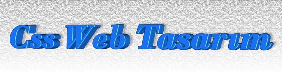Css Web Tasarım