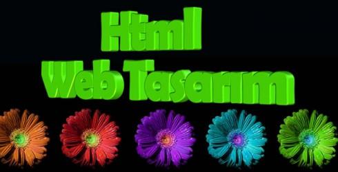 Html Web Tasarım
