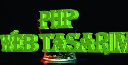 Php Web Tasarım