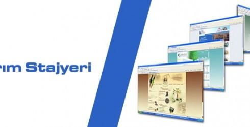 Web Tasarım Stajyeri