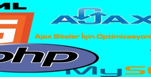 Ajax Siteler İçin Optimizasyonlar Nelerdir?