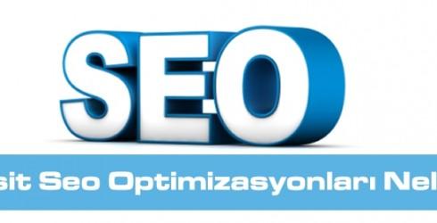Basit Seo Optimizasyonları Nelerdir ?