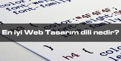 En İyi Web Tasarım Dili Nedir?