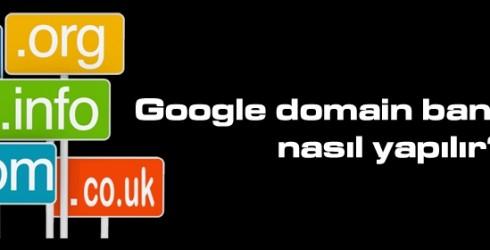 Google Domain Ban Kontrolü Nasıl Yapılır ?