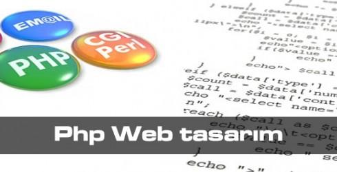 Php Web tasarımı