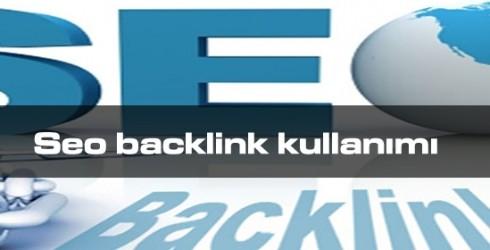 Seo Backlink Kullanımı