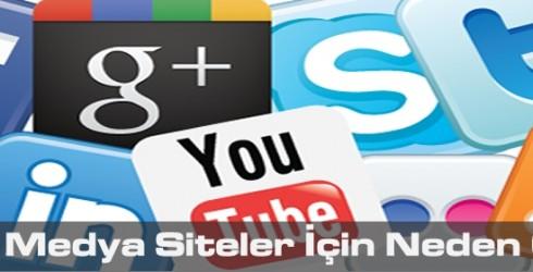 Sosyal Medya Siteler İçin Neden Önemli