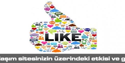 Sosyal Paylaşımın Sitenizin Üzerindeki Etkisi ve Gücü