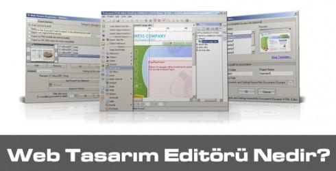 Web Tasarım Editörleri Nelerdir