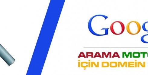 Arama Motorları için Domain Seçimi