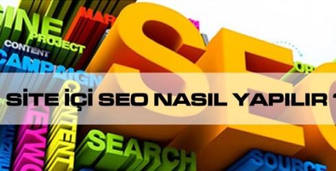 Site İçi Seo Nasıl Yapılır ?