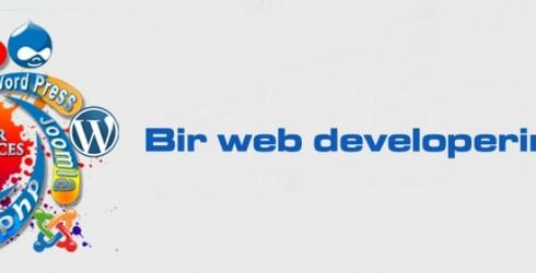 Bir Web Developerin Günlüğü