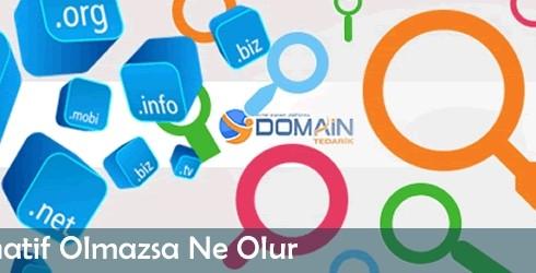 Bir Domain Alternatif Olmazsa Ne Olur
