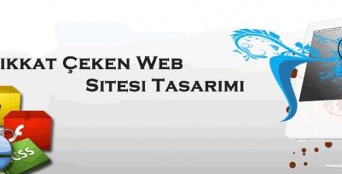 Dikkat Çeken Web Sitesi Tasarımı