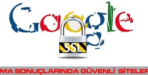 Google, Arama Sonuçlarında Güvenli Siteleri Öne Alıyor.