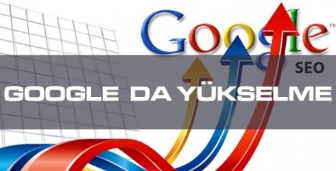 Google'da  Yükselmek
