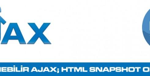 İndekslenebilir Ajax; HTML Snapshot oluşturma