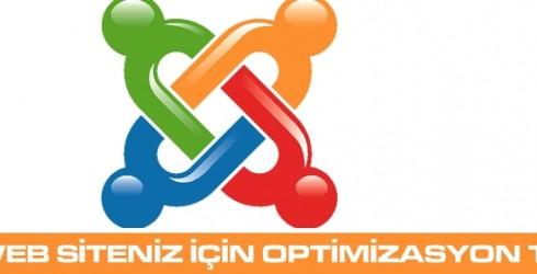 Joomla Web Siteniz İçin Optimizasyon Teknikleri