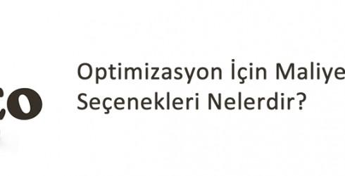 Optimizasyon İçin Maliyet Belirleme