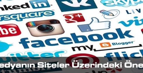 Sosyal Medyanın Siteler Üzerindeki Önemi