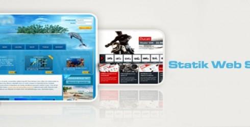 Statik Web Sayfası Tasarımı Nedir?