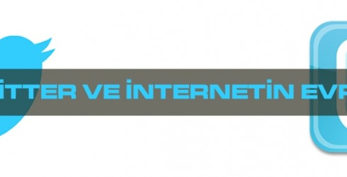 Twitter ve internetin evrimi