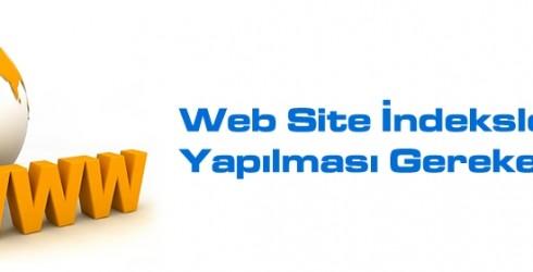 Web Site İndexleme İçin Yapılması Gerekenler