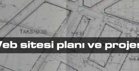 Web sitesi planı ve projesi