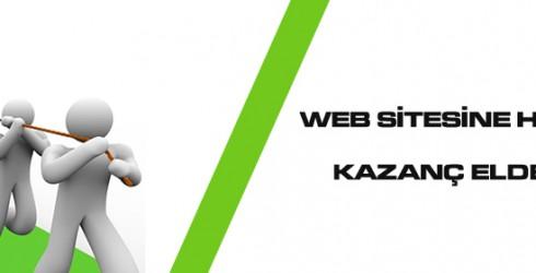 Web Sitesine Hit Çekerek Kazanç Elde Edin