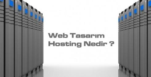 Web Tasarım Hosting Nedir?