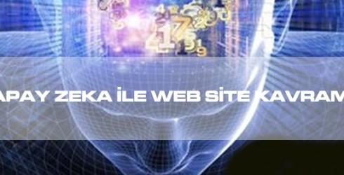 Yapay Zeka ile Web Site Kavramları