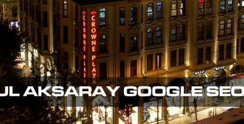 İstanbul Aksaray Google Seo Firması