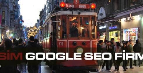 Taksim Google Seo Firması